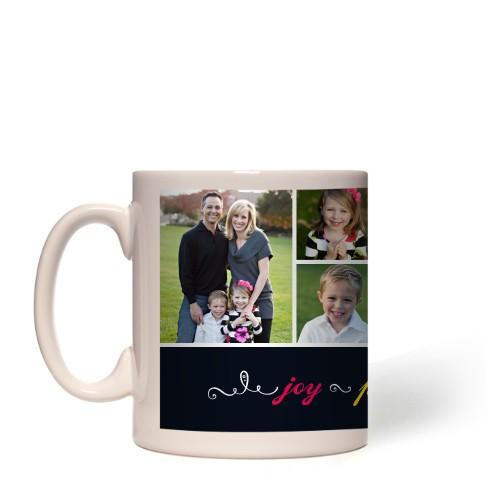 Joy Peace Love Family Mug