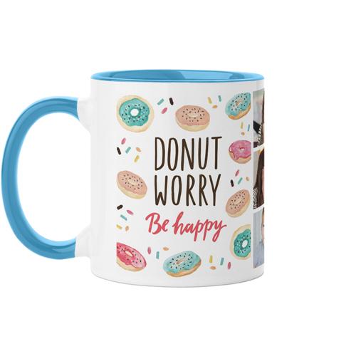 Donut Worry Be Happy Mug