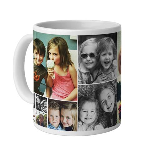 Collage Squares Mug