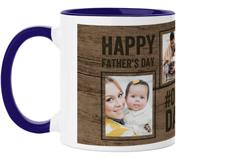 rustic pictogram mug