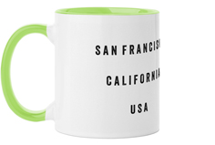 text gallery of one mug