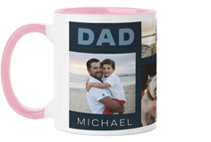 dad denim mug