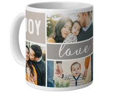 joy love family mug
