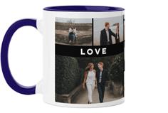 eternal love grid mug