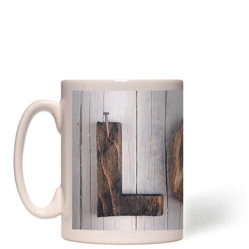 Wood Block Love Mug
