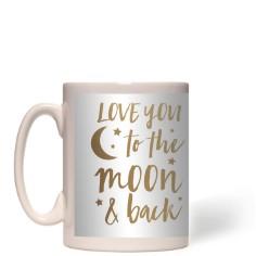 hand drawn frames to the moon mug