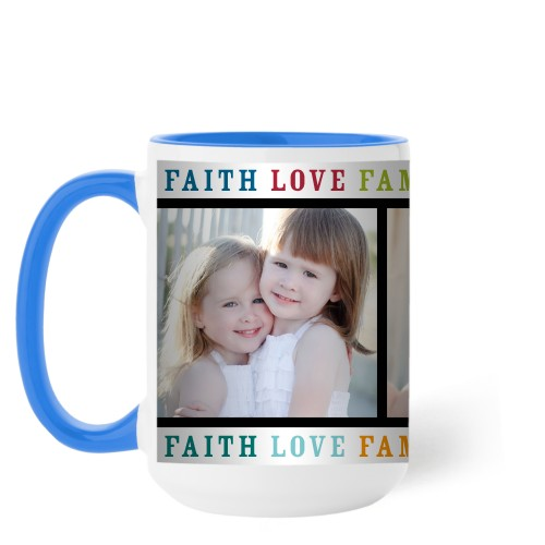 Faith Love Family Mug