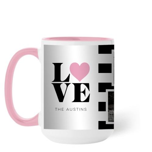 Love Block Stripes Mug