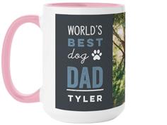 best in show dog dad mug