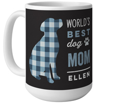 best in show dog mom mug