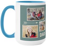 outdoor dad mug