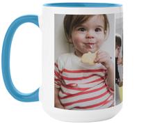 gallery of three mug