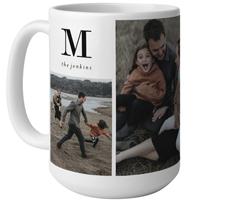 monogram family mug