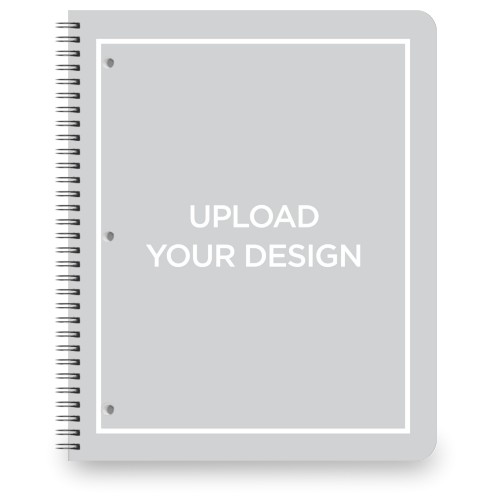 Upload Your Own Design Notebook By Shutterfly Shutterfly