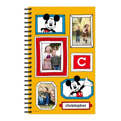 Disney Mickey Mouse 5x8 Notebook, 8x5, Orange