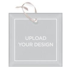 upload your own design glass ornament