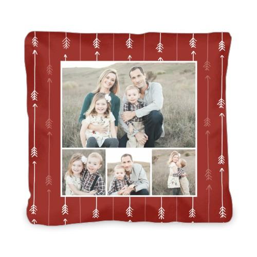 Arrow Collage Outdoor Pillow