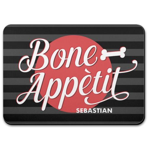 Bone Appetit Pet Placemat