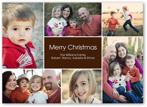 Cheer All Around Christmas Card, Square