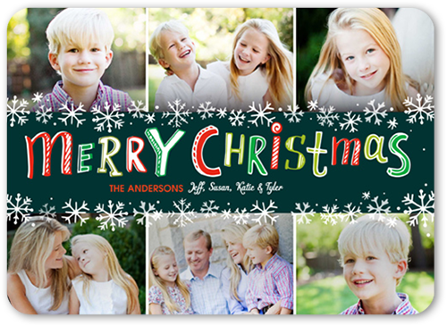 Colorful Memories Christmas Card