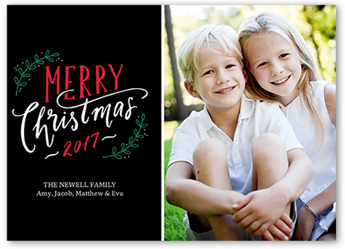 Christmas Photo Cards Shutterfly - Luxury christmas card templates for photographers 2014 scheme