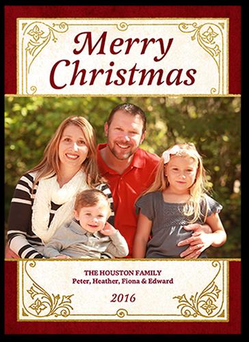 Merry Elegant Christmas Card