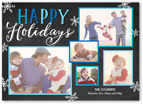 Holiday Charm Holiday Card