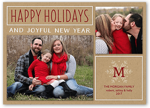 Crafted Moments Holiday Card