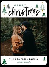 spruce confetti holiday card