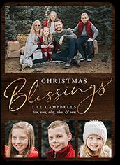 noel blessings holiday card