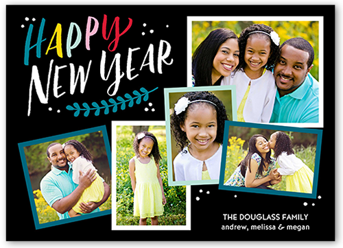Annual Flurries New Year's Card