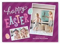easter egg delight easter card 5x7 photo