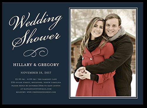 Elegant Shower Bridal Shower Invitation, Square