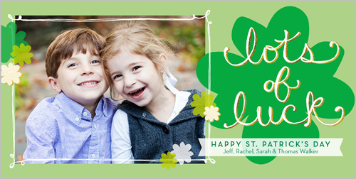 Lots Of Luck St. Patrick's Day Card