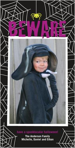 Beware Halloween Card