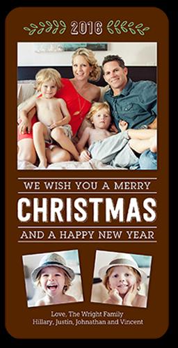 Merriest Memories Christmas Card