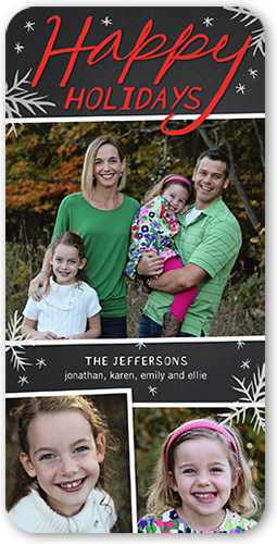 Shadowed Frames Holiday Card
