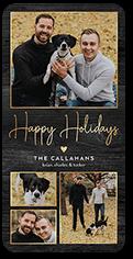 shiny memories holiday card