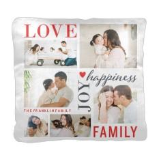 love joy family pillow