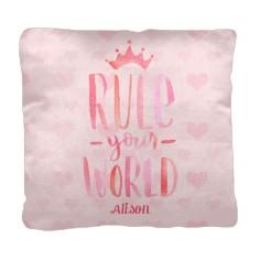 princess rule your world pillow