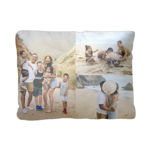 Gallery of Three Pillow, Plush, Pillow (Plush), 12 x 16, Single-sided, White