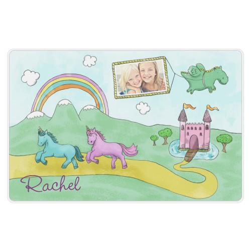 Rainbows and Unicorns Placemat