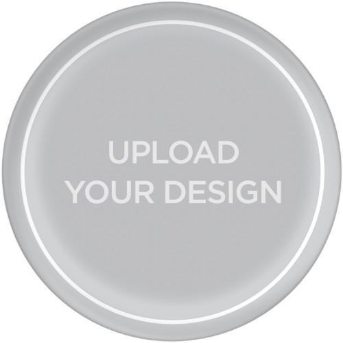 Upload Your Own Design Plate, 10x10 Plate, Multicolor