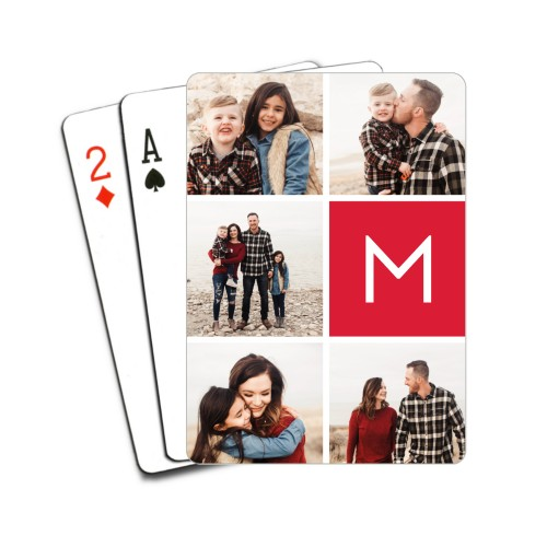 Gallery Monogram Playing Cards, Multicolor