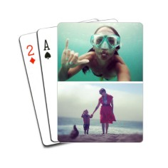 gallery of two playing cards