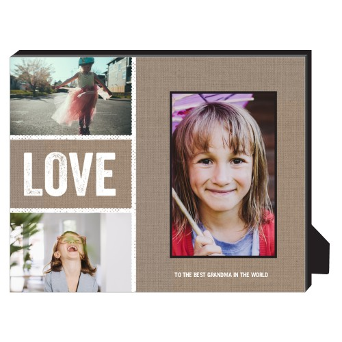 Textured Frames Personalized Frame, - Photo insert, 8 x 10 Personalized Frame, Brown