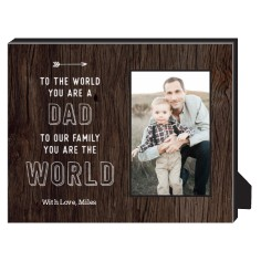 youre my world personalized frame