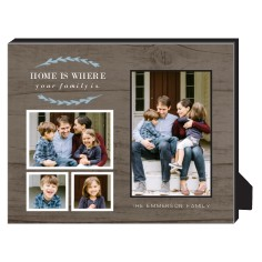 home is where personalized frame