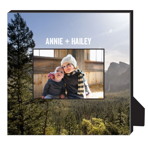 Photo Gallery Personalized Frame, - No photo insert, 11.5 x 11.5 Personalized Frame, Multicolor