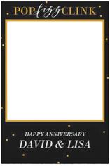 confetti party celebration selfie frame